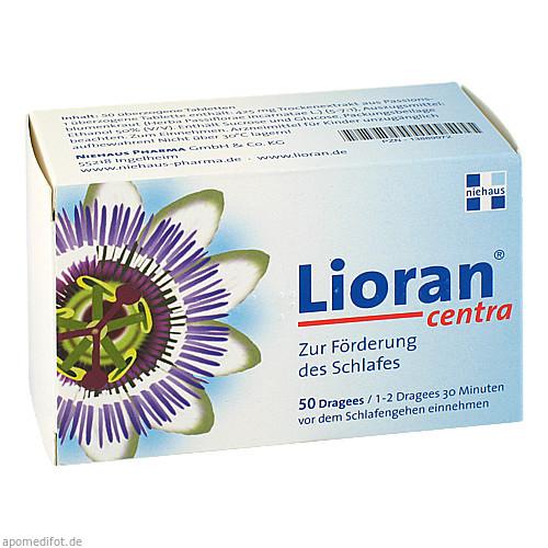 Lioran centra, 50 ST, Niehaus Pharma GmbH & Co. KG