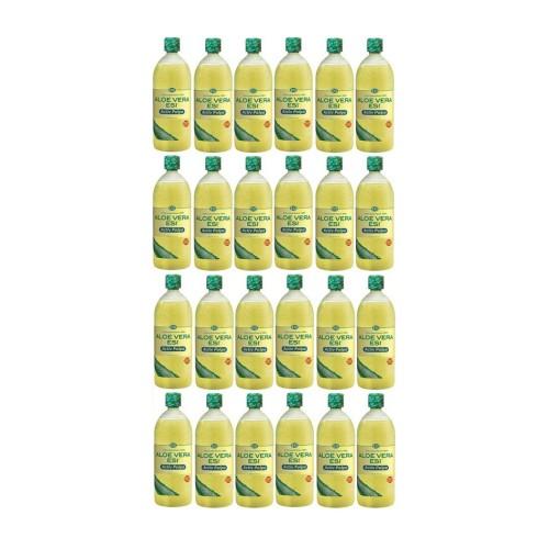Aloe-Vera-Saft natur mit Fruchtfleisch, 24X1 L, Groß GmbH