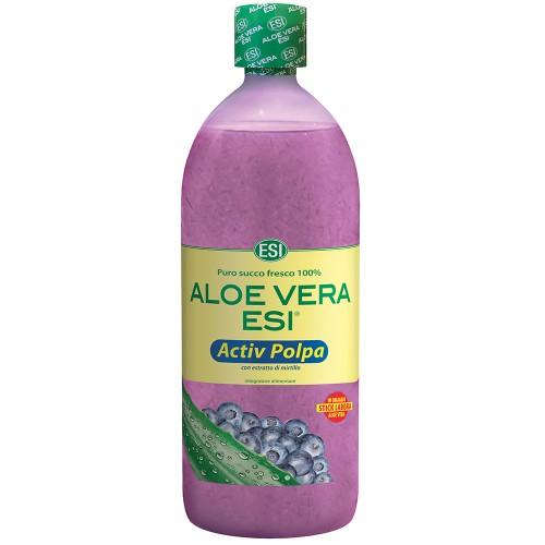 Aloe-Vera-Saft natur Heidelbeer Fruchtfleisch, 1 L, Groß GmbH