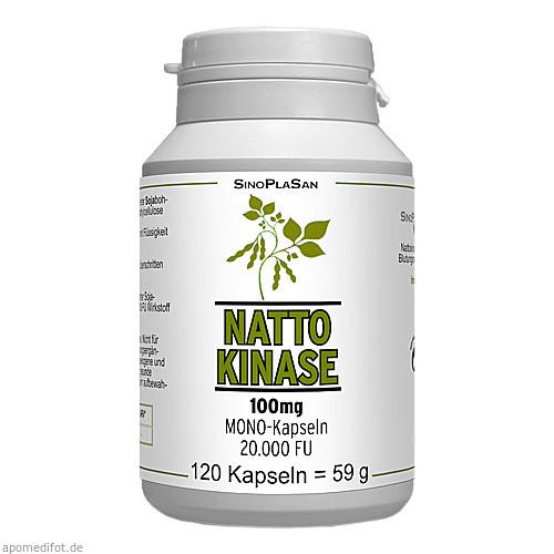 Nattokinase 100 mg Mono 20.000 FU, 120 ST, Sinoplasan AG
