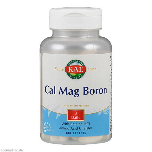 Calcium & Magnesium + Bor, 100 ST, Supplementa Corporation B.V.