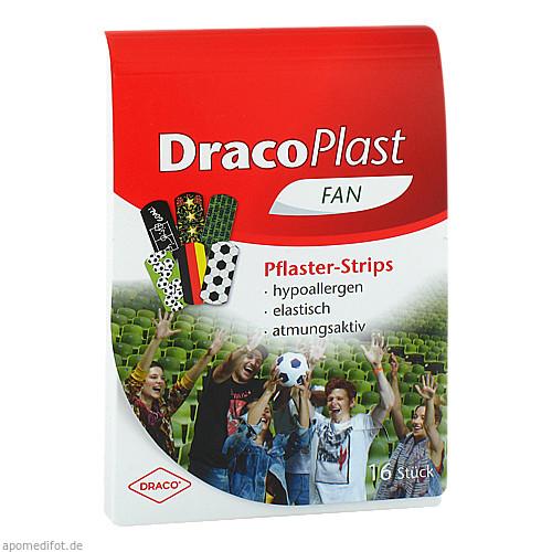 DRACOPLAST FAN Pflaster Fangruppe, 16 ST, Dr. Ausbüttel & Co. GmbH