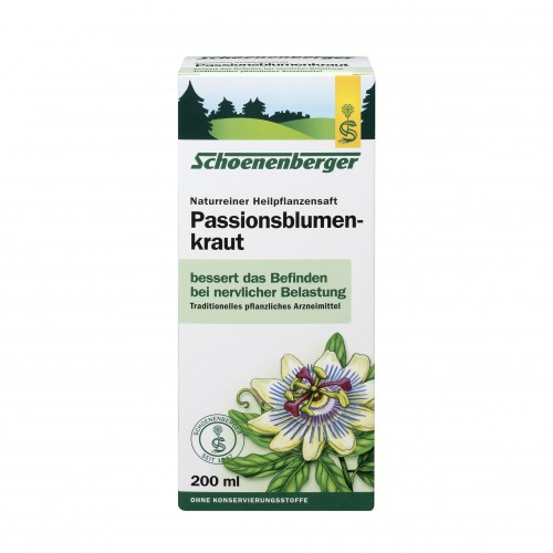 Passionsblumenkraut naturreiner Heilpflanzensaft, 200 ML, Salus Pharma GmbH