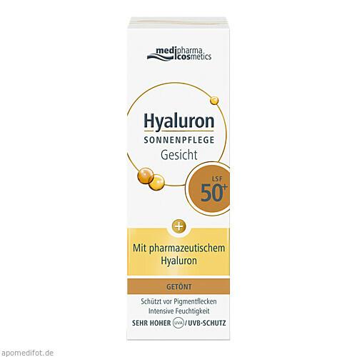Hyaluron Sonnenpflege Gesicht getönt LSF 50+, 50 ML, Dr. Theiss Naturwaren GmbH