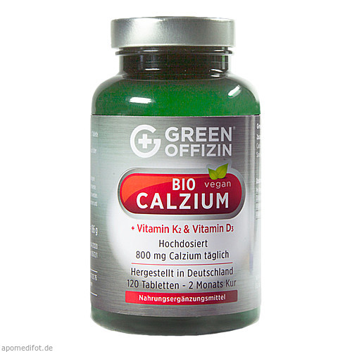 Green Offizin - Bio Calzium, 120 ST, Green Offizin S.r.l.