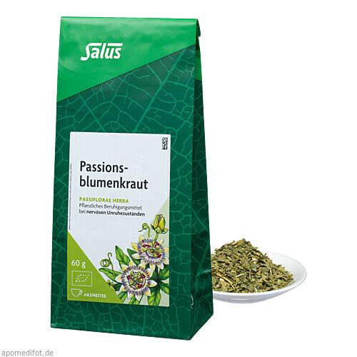 Passionsblumenkraut Arzneitee Passiflorae h. Salus, 60 G, Salus Pharma GmbH
