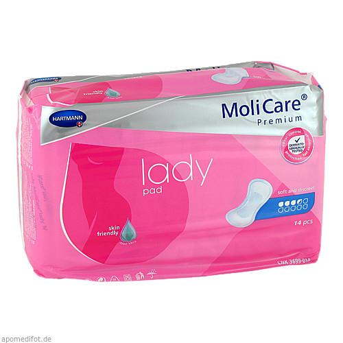 MoliCare Premium lady pad 3.5 Tropfen, 14 ST, Paul Hartmann AG