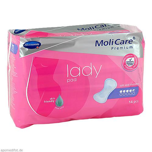 MoliCare Premium lady pad 4.5 Tropfen, 14 ST, Paul Hartmann AG