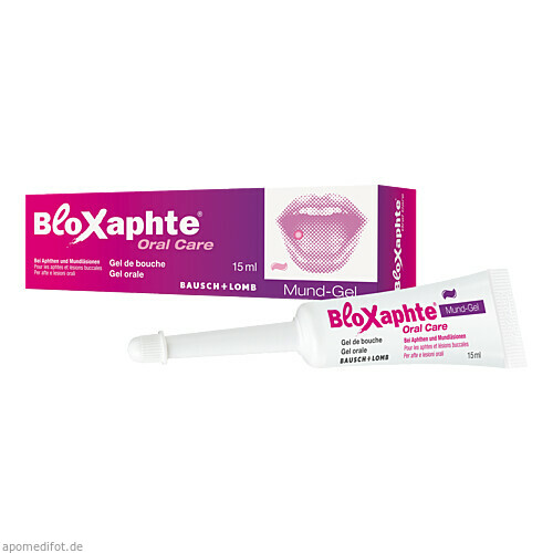 Bloxaphte Oral Care Mund-Gel, 15 ML, Dr. Gerhard Mann