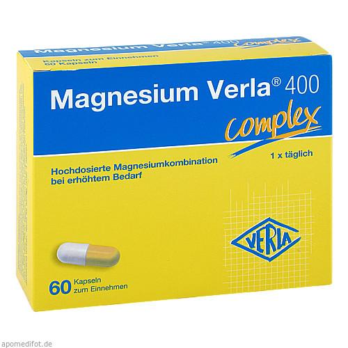 Magnesium Verla 400, 60 ST, Verla-Pharm Arzneimittel GmbH & Co. KG