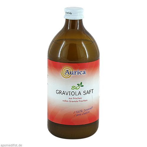 Graviola Direktsaft Bio 100 %, 500 ML, AURICA Naturheilmittel und Naturwaren GmbH