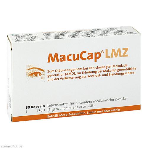 MacuCap LMZ, 30 ST, Ebiga-Vision GmbH