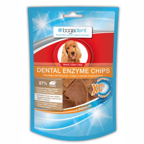 bogadent DENTAL ENZYME CHIPS Hund, 40 G, Werner Schmidt Pharma GmbH
