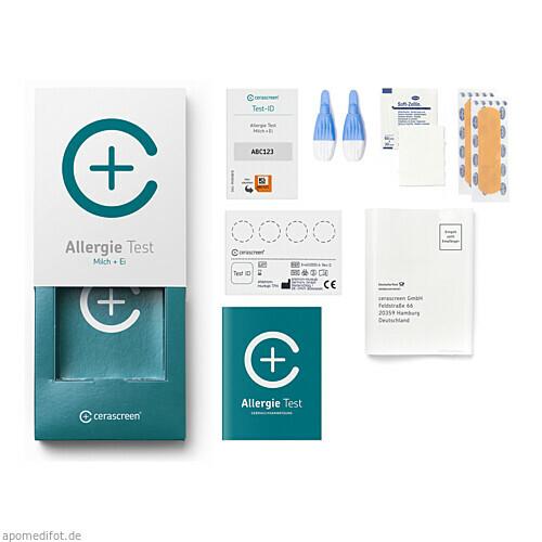 cerascreen Allergie-Testkit (Milch & Ei), 1 ST, Cerascreen GmbH