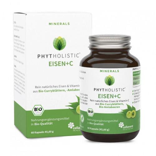 Phytholistic Eisen+C Bio, 60 ST, Cellavent Healthcare GmbH