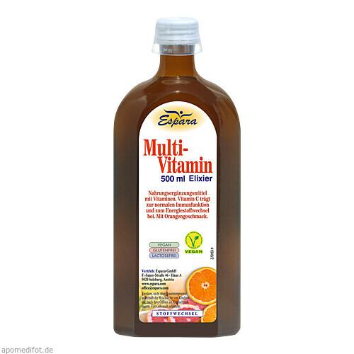 Multi-Vitamin-Elixier, 500 ML, Espara GmbH