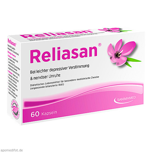 Reliasan 60 Kapseln, 60 ST, Sanimamed Europe Health S.R.L.