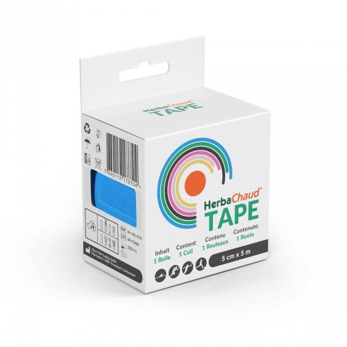 HerbaChaud Tape blau 5m x 5cm, 1 ST, China Tcm Trading GmbH