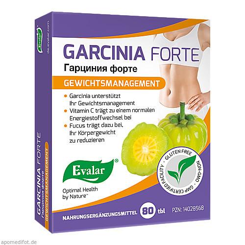 GARCINIA FORTE, 80 ST, Evalar s.r.o.