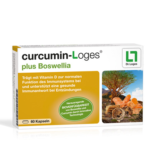 curcumin-Loges plus Boswellia, 60 ST, Dr. Loges + Co. GmbH