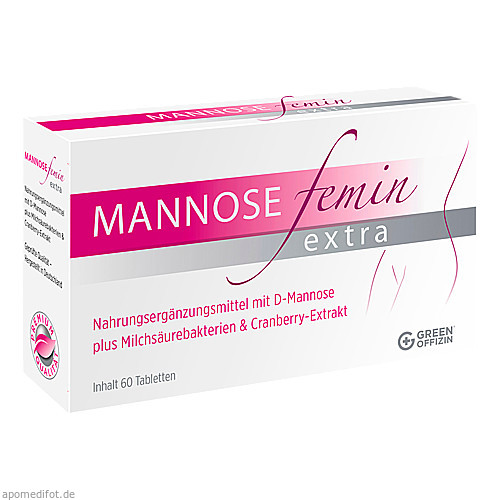 Mannose Femin Extra, 60 ST, Green Offizin S.r.l.