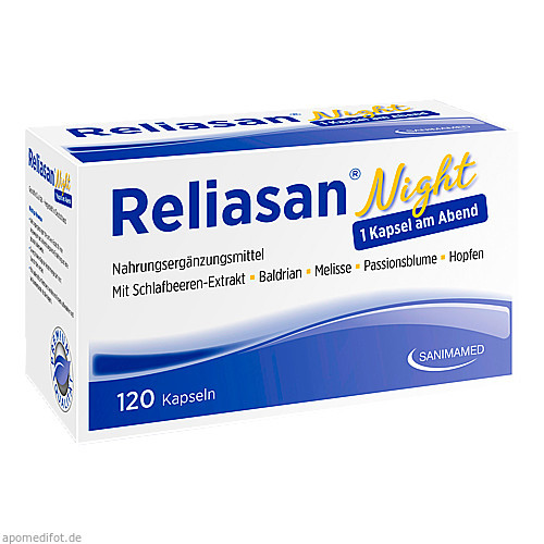 Reliasan Night, 120 ST, Sanimamed Europe Health S.R.L.