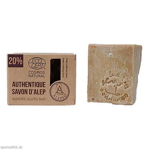 ALEPEO 20 % AUTHENTIC SOAP, 200 G, ASAV Apoth.Serv.Arzneim.Vertr. GmbH