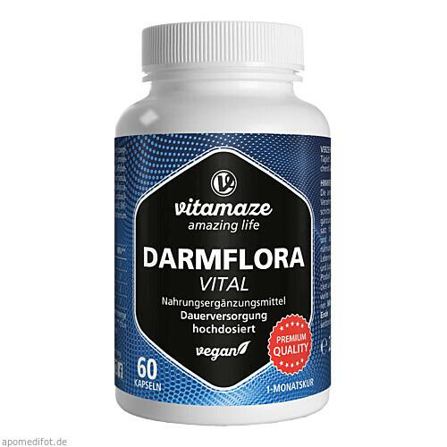 Darmflora VITAL vegan, 60 ST, Vitamaze GmbH