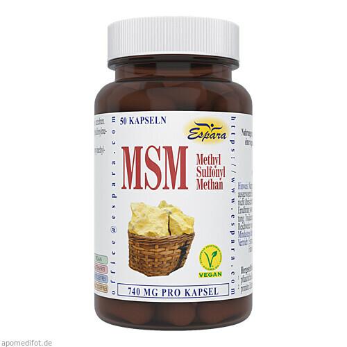 MSM, 50 ST, Espara GmbH