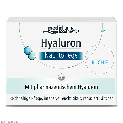 Hyaluron Nachtpflege RICHE im Tiegel, 50 ML, Dr. Theiss Naturwaren GmbH