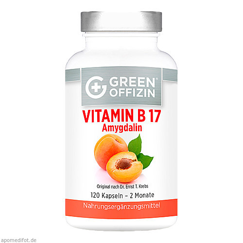 Green Offizin - Vitamin B 17, 120 ST, Green Offizin S.r.l.