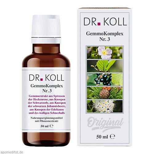 Gemmokomplex Nr. 3, 50 ML, Dr. Koll Biopharm GmbH