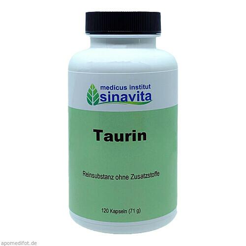 Taurin, 120 ST, Medicus Institut Sinavita