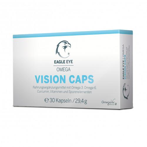 Eagle Eye Omega Vision Caps Augenkapseln, 30 ST, Innomedis AG