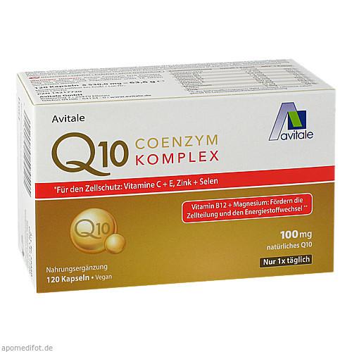 Coenzym Q10 100 mg Kapseln+Vitamine+Mineralstoffe, 120 ST, Avitale GmbH