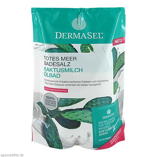 DermaSel Totes Meer Badesalz Kaktusmilch 400g+20ml, 1 P, Fette Pharma AG