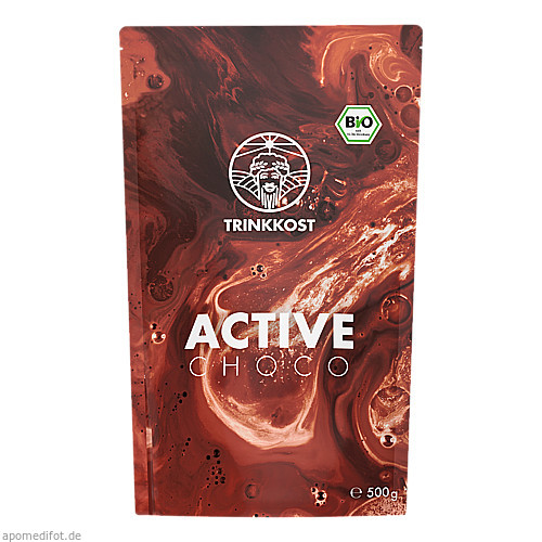 TRINKKOST ACTIVE Choco, 500 G, Imp GmbH International Medical Products