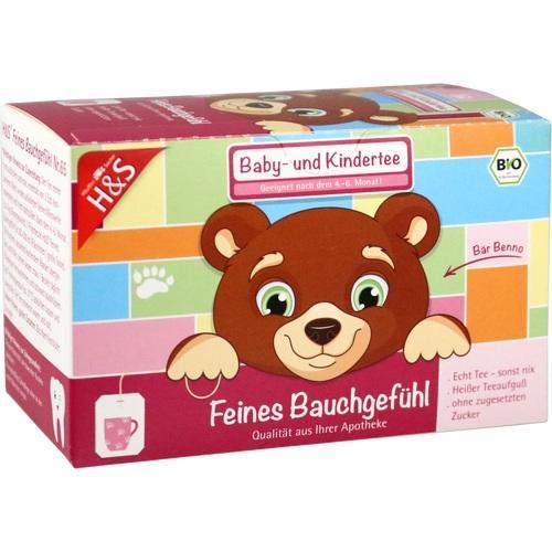 H&S Feines Bauchgefühl (Bio Baby- und Kindertee), 20X1.5 G, H&S Tee - Gesellschaft mbH & Co.