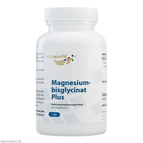 Magnesiumbisglycinat Plus, 120 ST, Vita World GmbH