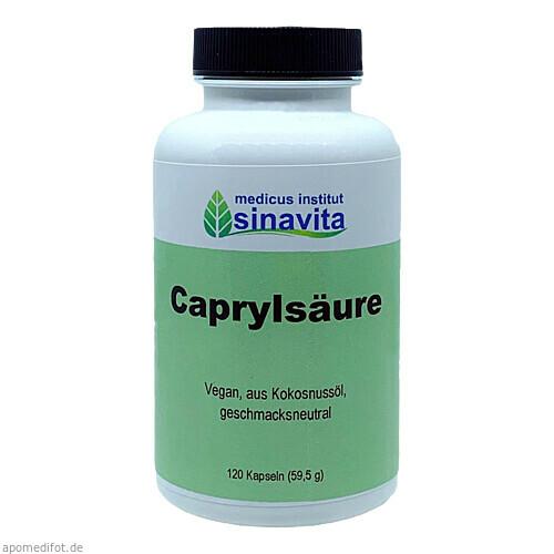 Caprylsäure, 120 ST, Medicus Institut Sinavita