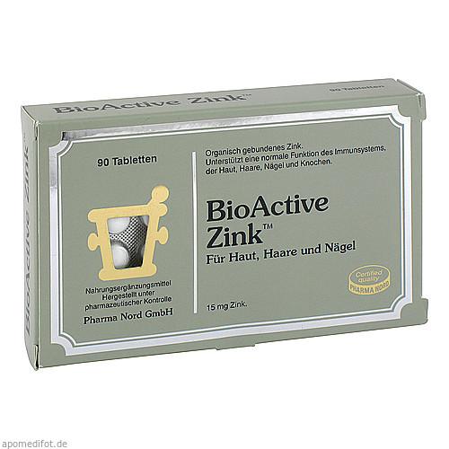 BioActive Zink, 90 ST, Pharma Nord Vertriebs GmbH