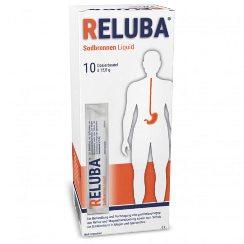 RELUBA SODBRENNEN LIQUID, 10 ST, Janus Medica GmbH