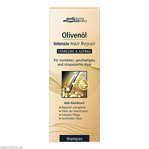 Olivenöl Intensiv Hair Repair Shampoo, 200 ML, Dr. Theiss Naturwaren GmbH
