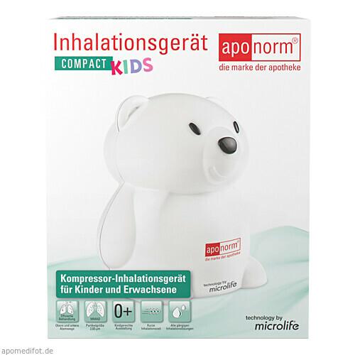 aponorm Inhalationsgerät Compact Kids, 1 ST, Wepa Apothekenbedarf GmbH & Co. KG