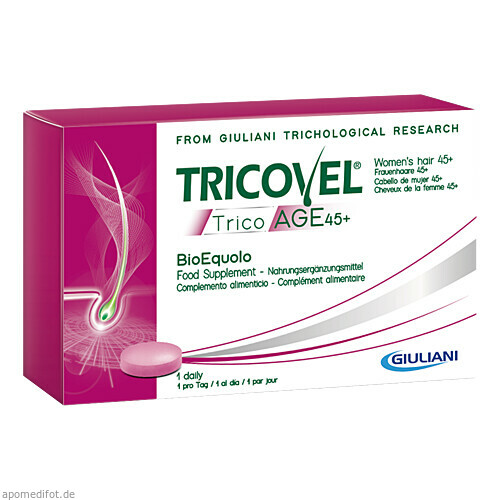 Tricovel Trico Age 45+ Haarausfall Frauen 45+, 30 ST, Derma Enzinger GmbH