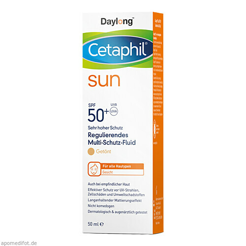 Cetaphil Sun Daylong 50+ Reg. MS-Fluid Ges getönt, 50 ML, Galderma Laboratorium GmbH