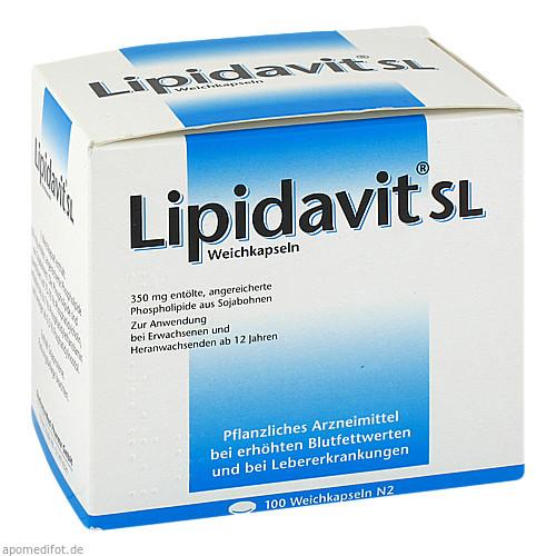 Lipidavit SL, 100 ST, Rodisma-Med Pharma GmbH