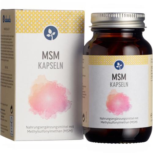 MSM 500 mg Kapseln, 60 ST, Aleavedis Naturprodukte GmbH