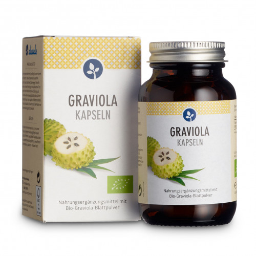 GRAVIOLA 500 mg Kapseln Bio, 60 ST, Aleavedis Naturprodukte GmbH