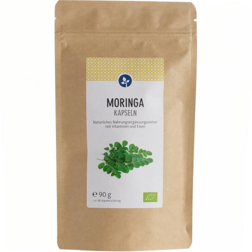 MORINGA 400 mg Kapseln Bio, 180 ST, Aleavedis Naturprodukte GmbH